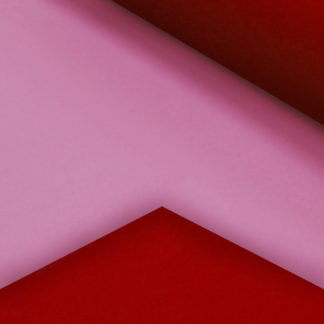 Pink & Red Double-Sided Gift Wrap