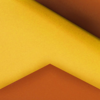 Yellow and Orange Double-Sided Gift Wrap