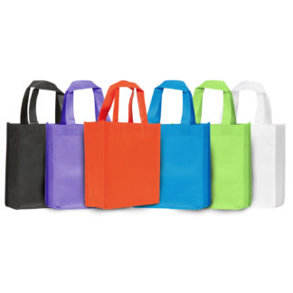 Mini Polypropylene Tote Carrier Bags