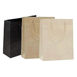 Non Laminated Rope Handle Carrier Bags