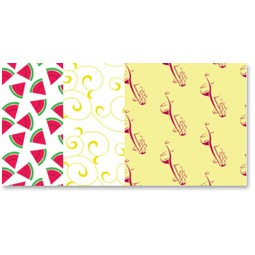 Patterned Wrapture Printed Tissue Paper