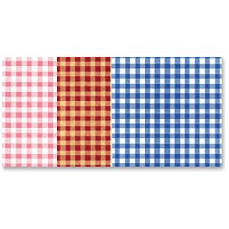 Gingham Wrapture Printed Tissue Paper