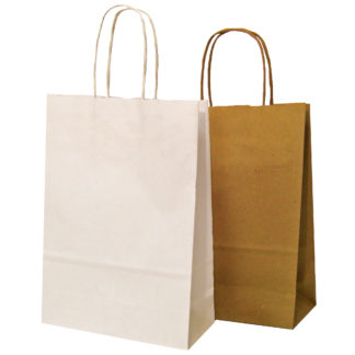Twisted Paper Handle Carrier Bags Spring Range
