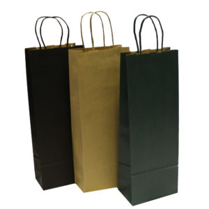 Wine Paper Carrier Bags