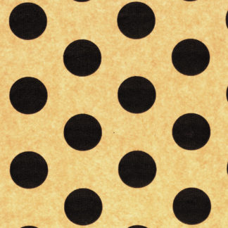 Black and Kraft Spots Wrapture Printed Tissue