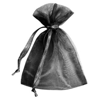 Black Sheer Pouches