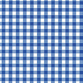 Blue Gingham Wrapture Printed Tissue