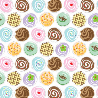 Cupcakes Wrapture Printed Tissue