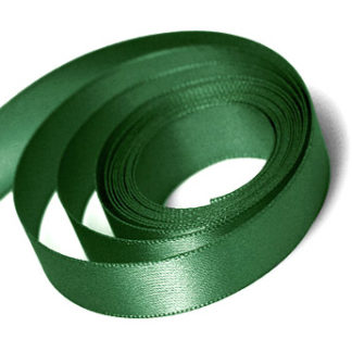 Forest Green Satin Ribbon