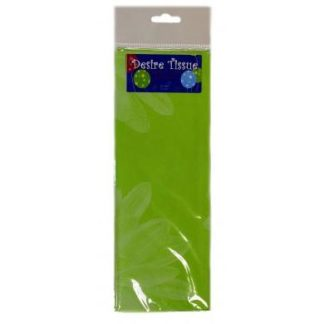 Green Daisy Printed Tissue Retail Pack
