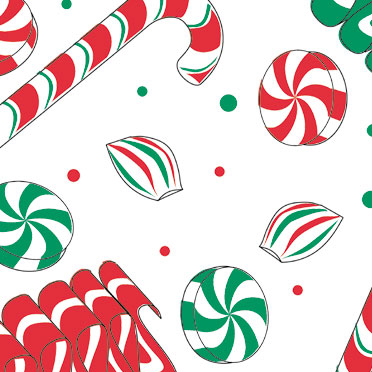Holiday Sweets Wrapture Printed Tissue