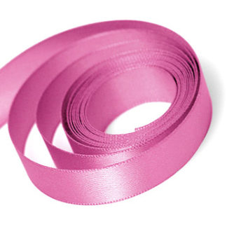 Hot Pink Satin Sale Ribbon