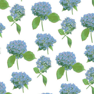 Hydrangeas Wrapture Printed Tissue