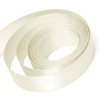 Ivory Satin Sale Ribbon