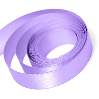 Lilac Satin Sale Ribbon