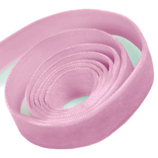 Light Pink Velvet Ribbon