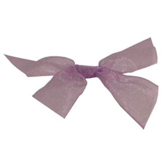 Lilac Sheer Sale Bow