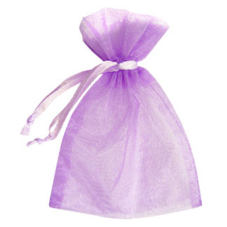 Lilac Sheer Pouches