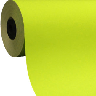 Lime Green Coloured Gift Wrap