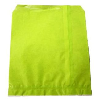 Lime Green Flat Bags