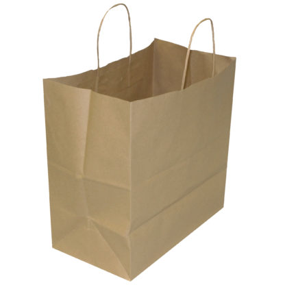 Natural Brown Cake Paper Carrier Bags