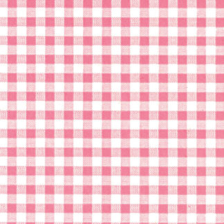 Pale Pink Gingham Wrapture Printed Tissue