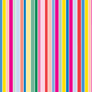 Rainbow Stripes Design 1 Wrapture Printed Tissue