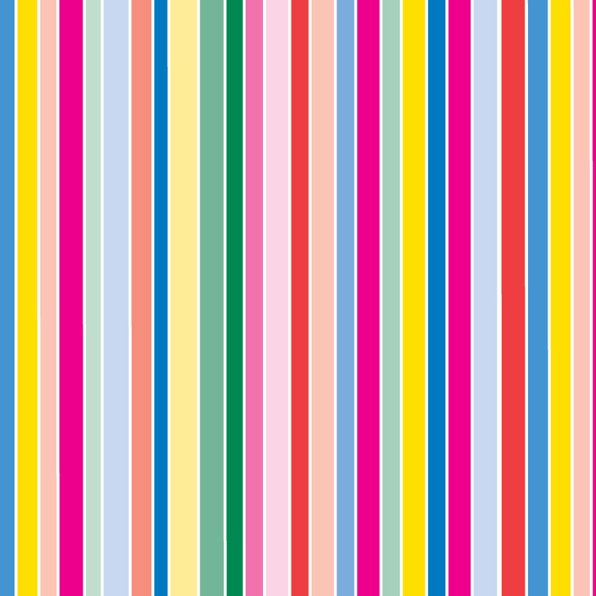 Rainbow stripes design 1 wrapture printed tissue for Design home gift paper inc