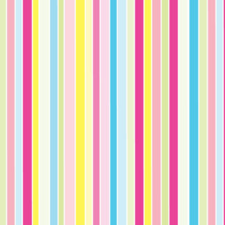 Rainbow Stripes Design 4 Wrapture Printed Tissue
