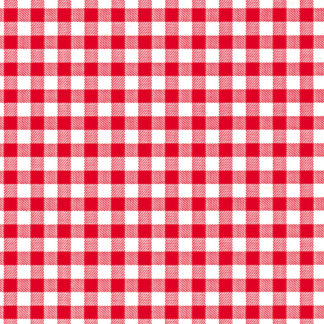 Red Gingham Wrapture Printed Tissue