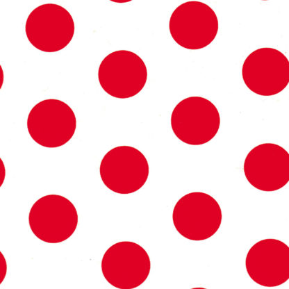 Red Spots Wrapture Printed Tissue