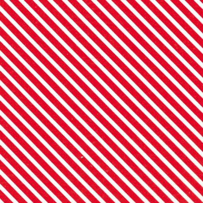 Red Stripes Wrapture Printed Tissue