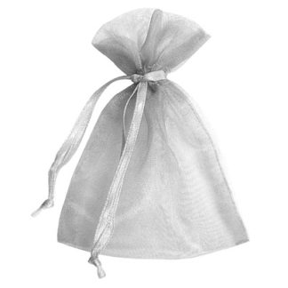 Silver Sheer Pouches