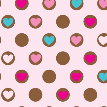 Sweet Hearts Wrapture Printed Tissue
