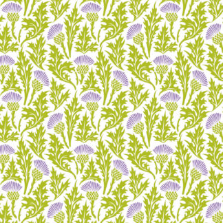 Thistle Patch Wrapture Printed Tissue