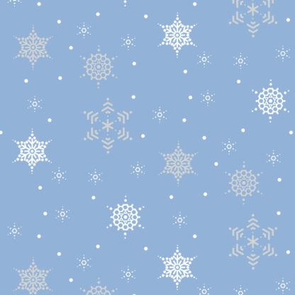 Winter Crystal Wrapture Printed Tissue