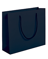 Dark Blue Boutique Rope Handle Carrier Bags