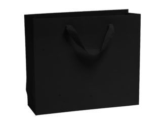 New Black Luxury Vogue Carrier Bags