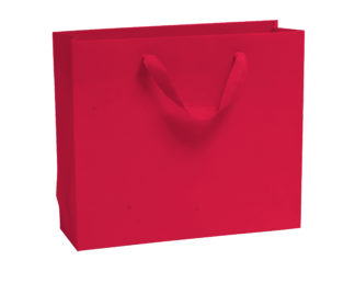 Red Luxury Vogue Carrier Bags