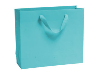 Turquoise Luxury Vogue Carrier Bags