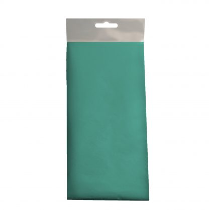 Teal Coloured Tissue Retail Pack